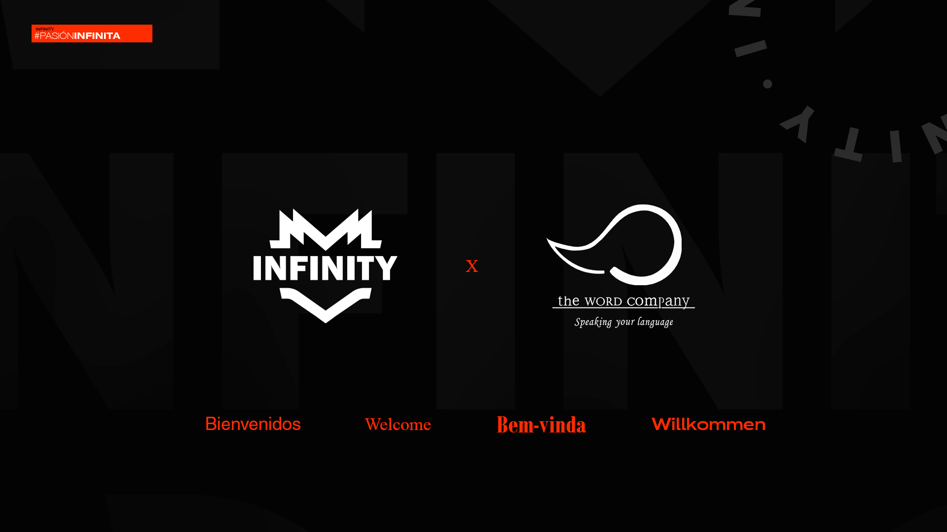 INFINITY y The Word Company