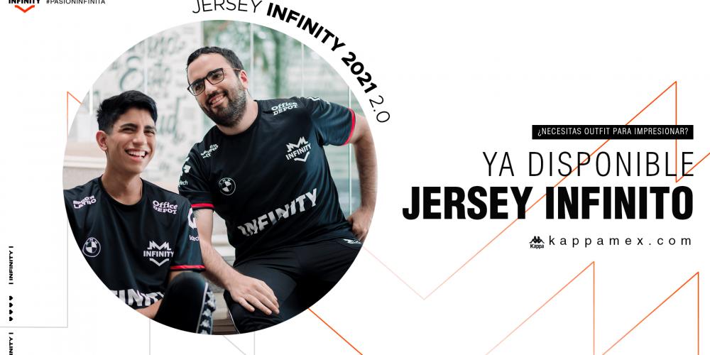 Jersey INFINITY 2021 Ackerman y Whitelotus