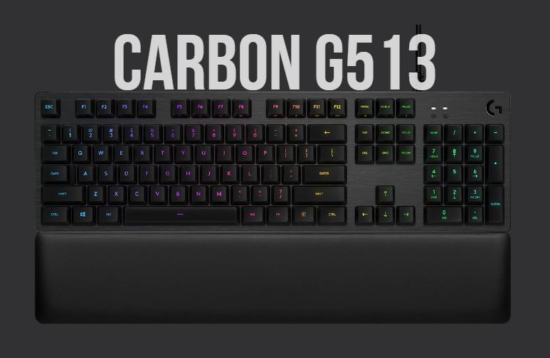 Teclado Logitech Carbon G513
