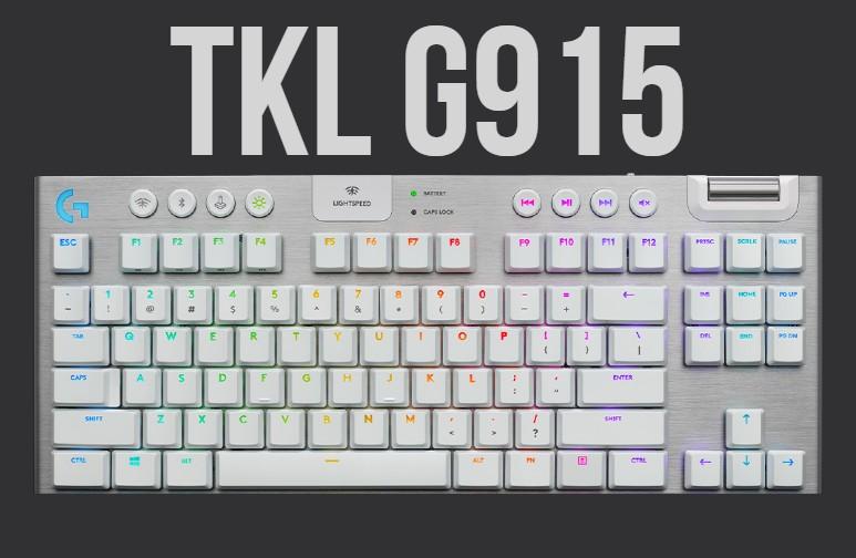 Teclado Logitech TKL G915